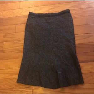 BCBGMaxazria Lori Fit and Flare Skirt